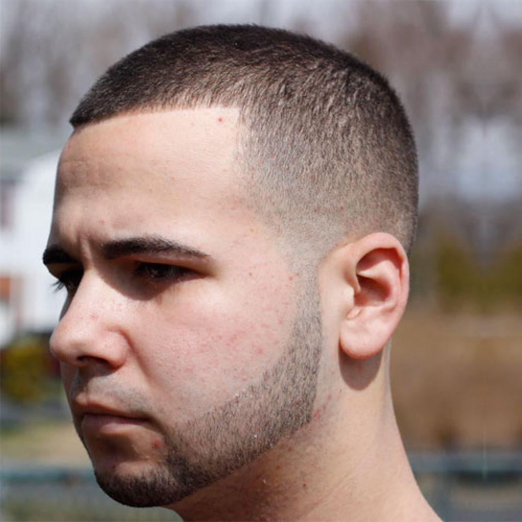 Стильные короткие мужские причёски