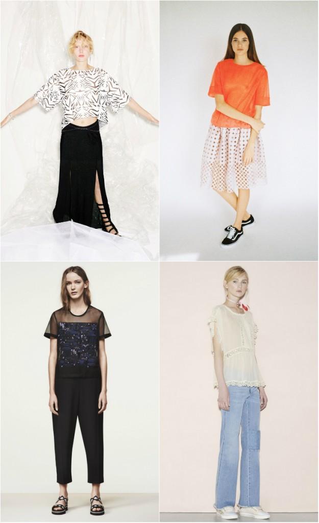 Модные женские футболки 2016 года. Тренды в фотографиях