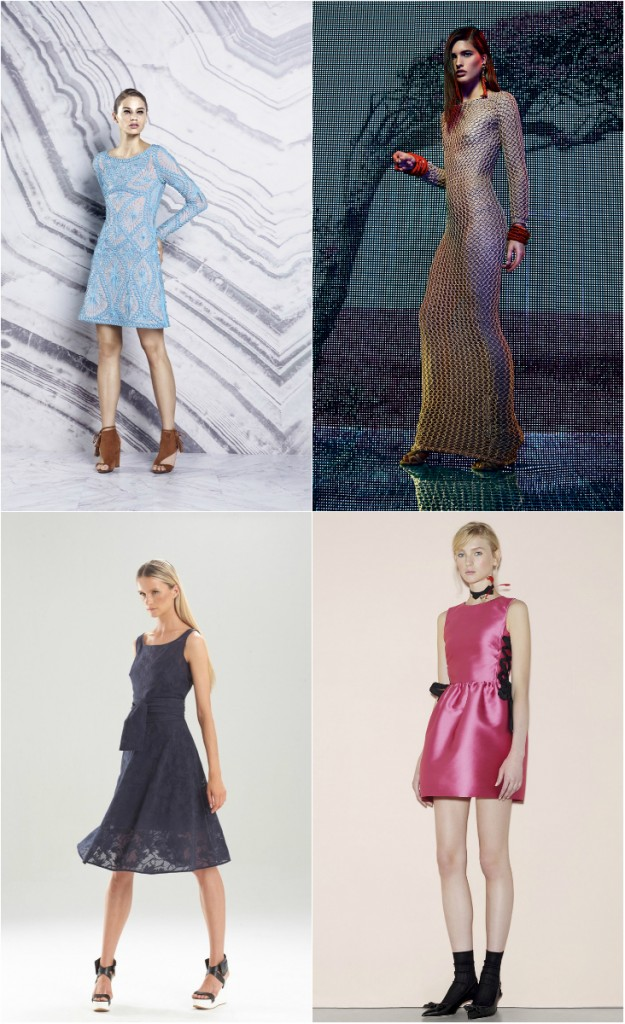 Модные женственные платья весна 2016