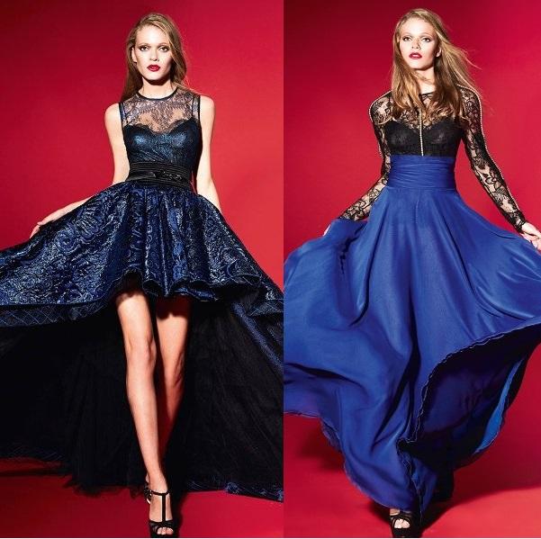 Модные выпускные платья