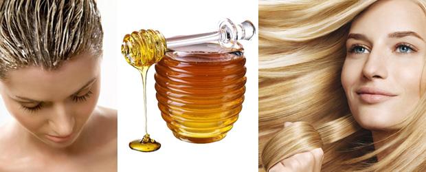 Маска для волос с мёдом для роста