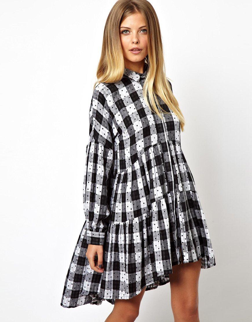 Отделки на платье рубашка