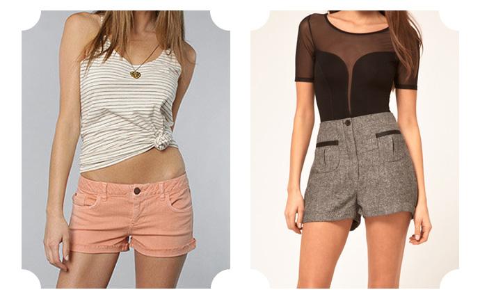 Модные шорты 2016 лето