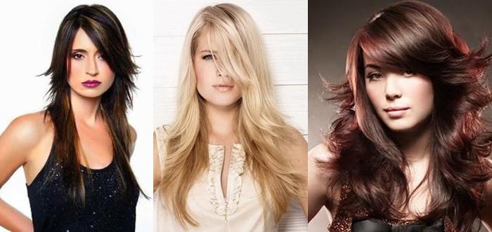Модные стрижки 2016 года на длинные волосы