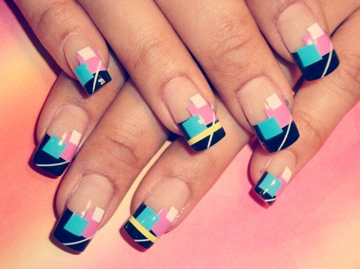 Дизайн ногтей фото 2016 современные идеи френч с рисунком