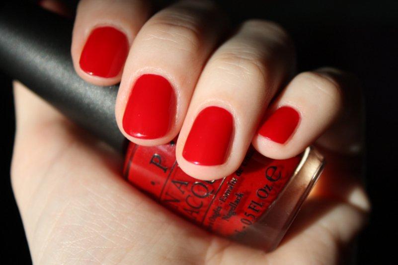 Ногти короткие красные дизайн фото