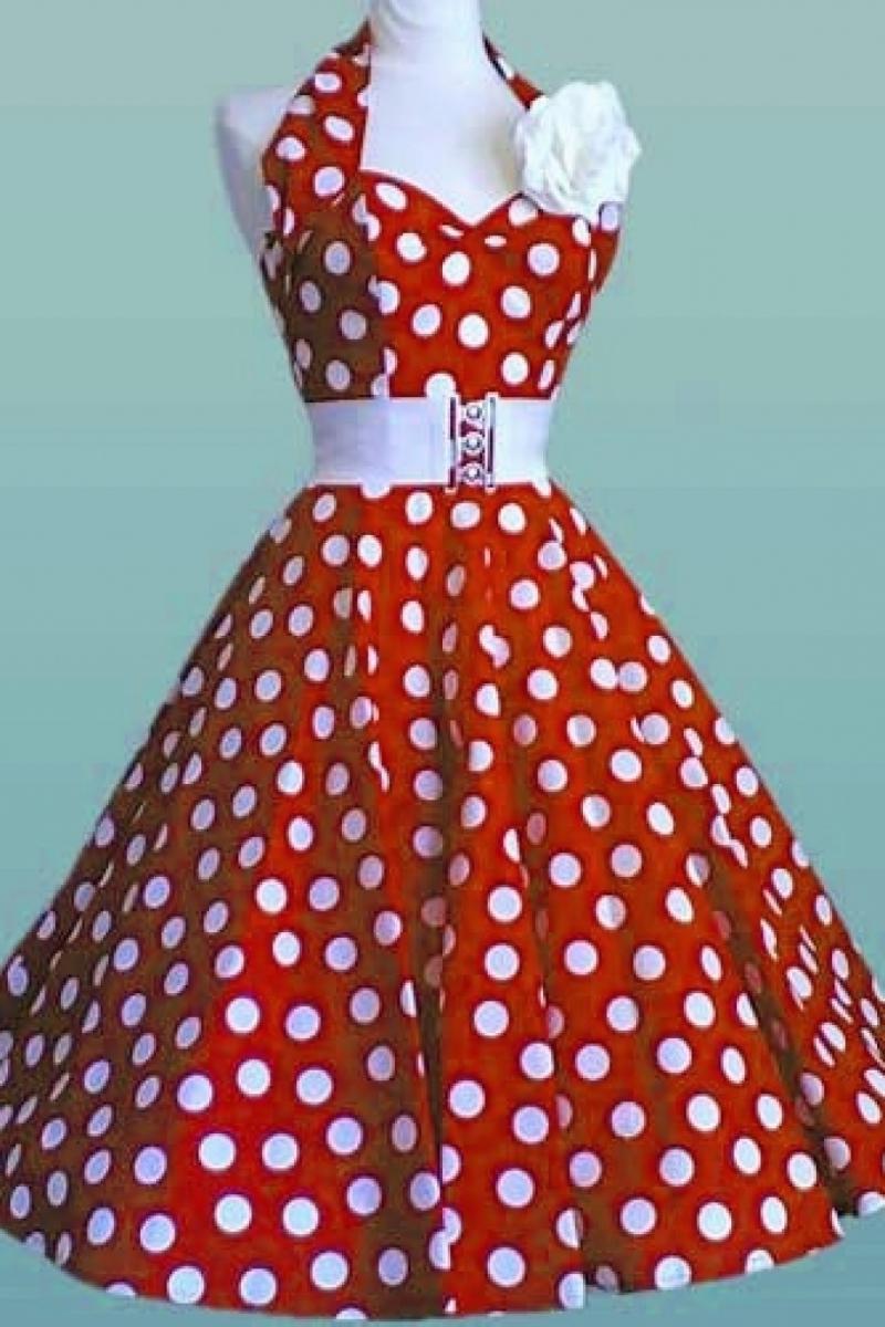 Платья сшить в стиле ретро стиль 418