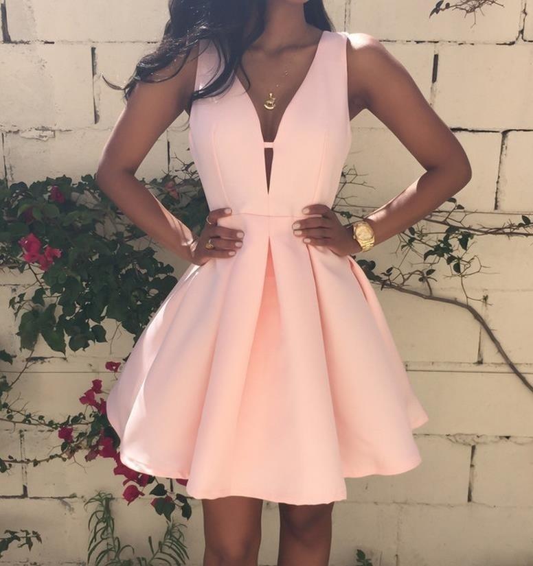 Короткие платья на выпускной 2016 фото
