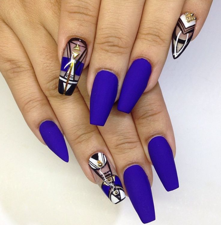 Маникюр на длинные ногти фото дизайн 2016