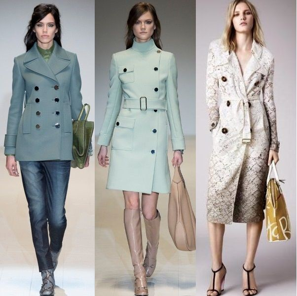 Модные пальто осень 2016 фото женские