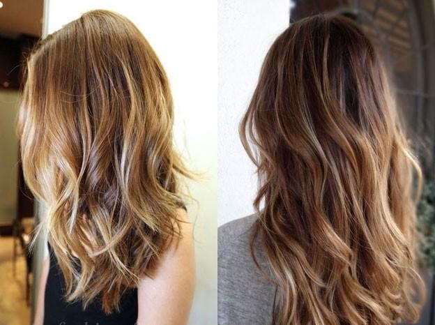 Модное окрашивание волос в 2016 году фото