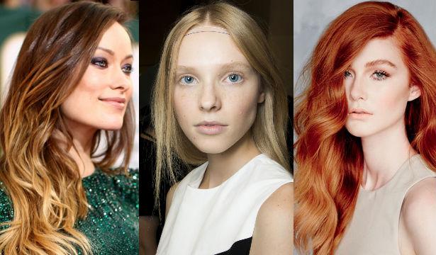 Модные прически и модный цвет волос
