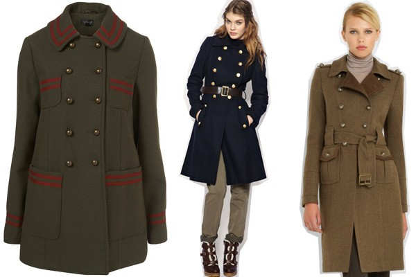 Пальто в стиле милитари сшить 80