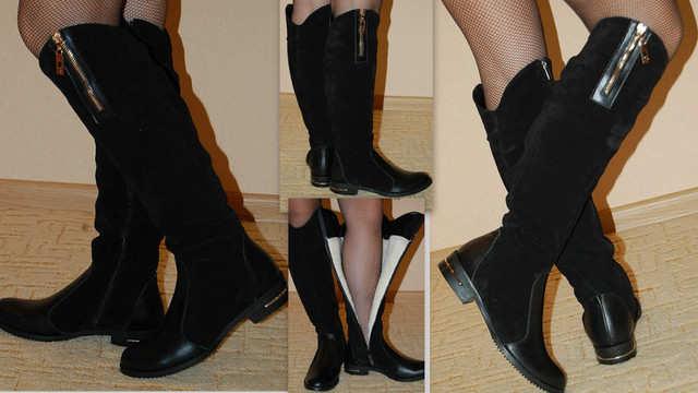 Мода Зима 2017 Обувь Замша