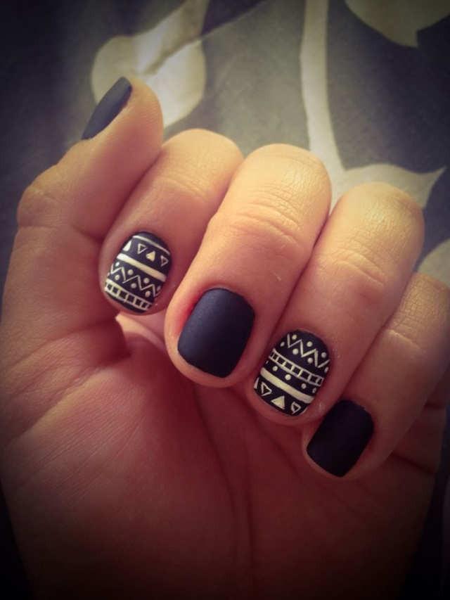 Матовые ногти гель лак фото