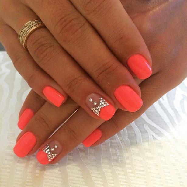 Фото красивого дизайна ногтей покрытие шеллак