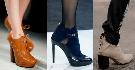 Какие ботинки и сапоги в моде весной 2017