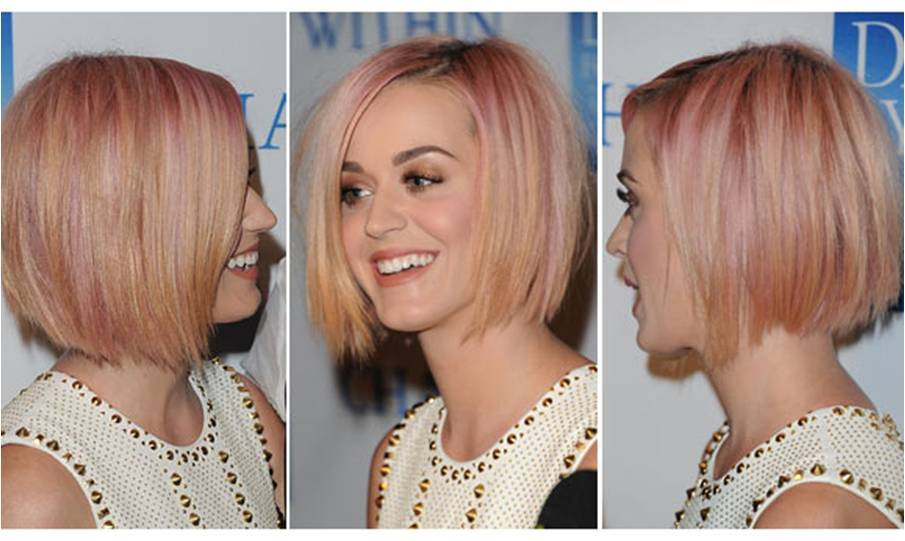 Katy perry new haircut