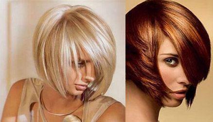 Варианты колорирования для коротких волос