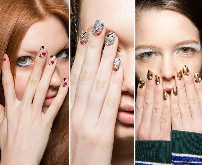 Маникюр 2016 модные тенденции фото осень зима