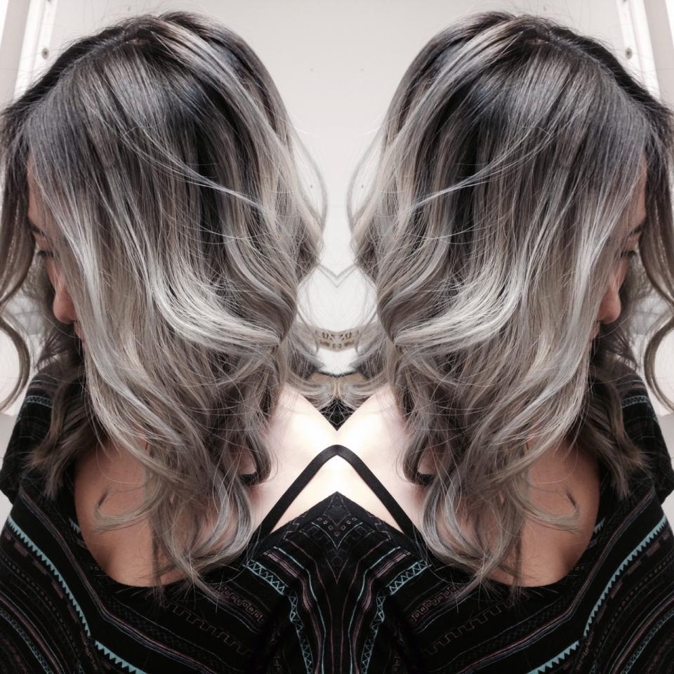 Мелирование волос фото модный цвет 2019
