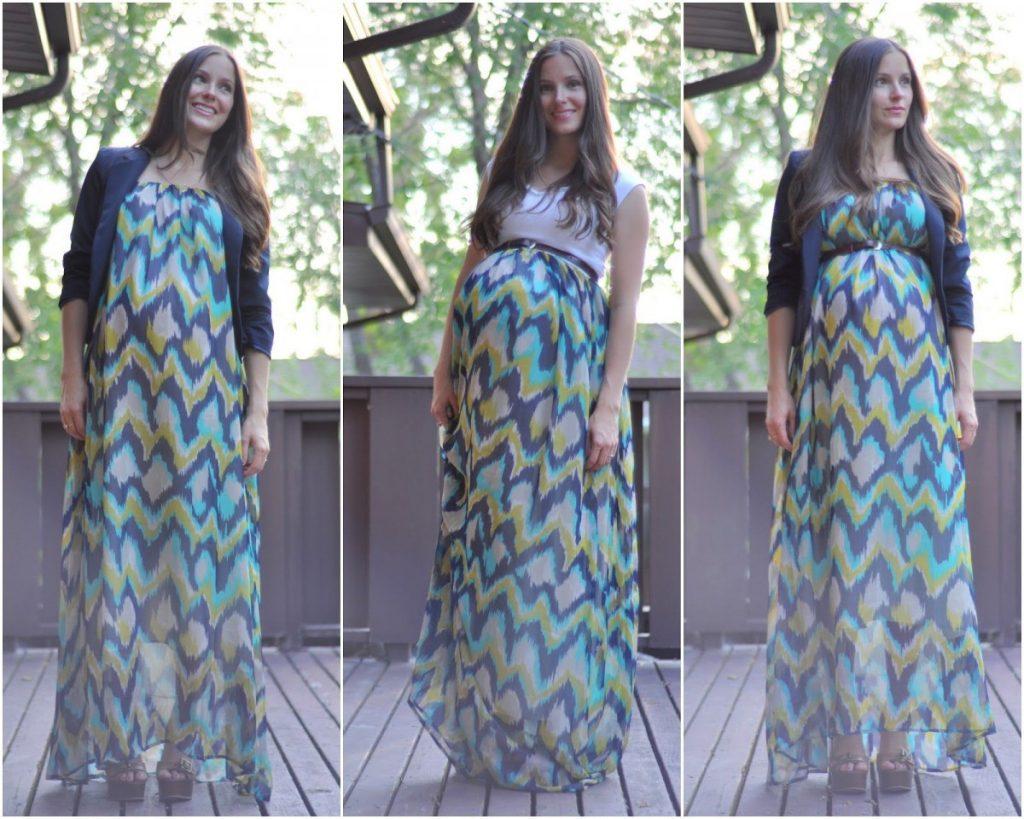 Прическа для беременных на длинные волосы 74
