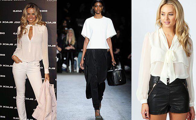 Самые Модные Блузки 2015
