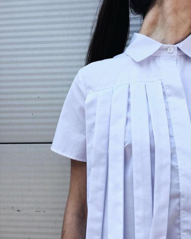 Платье рубашка 2017 фото