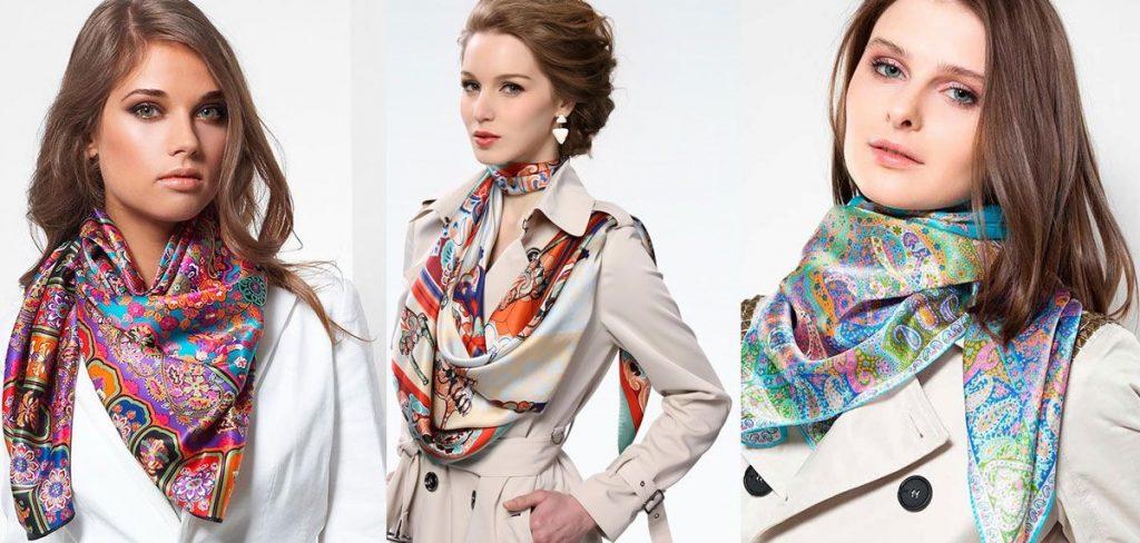 Женский шарф модный