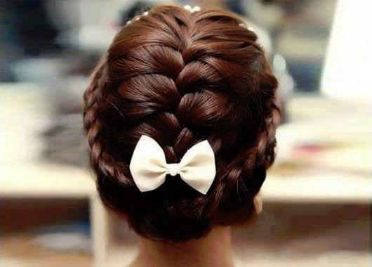 Причёски на 1 сентября на длинные волосы фото