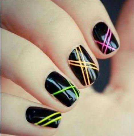 Узоры на ногтях для начинающих поэтапно фото