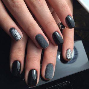 Дизайн коротких ногтей 2017