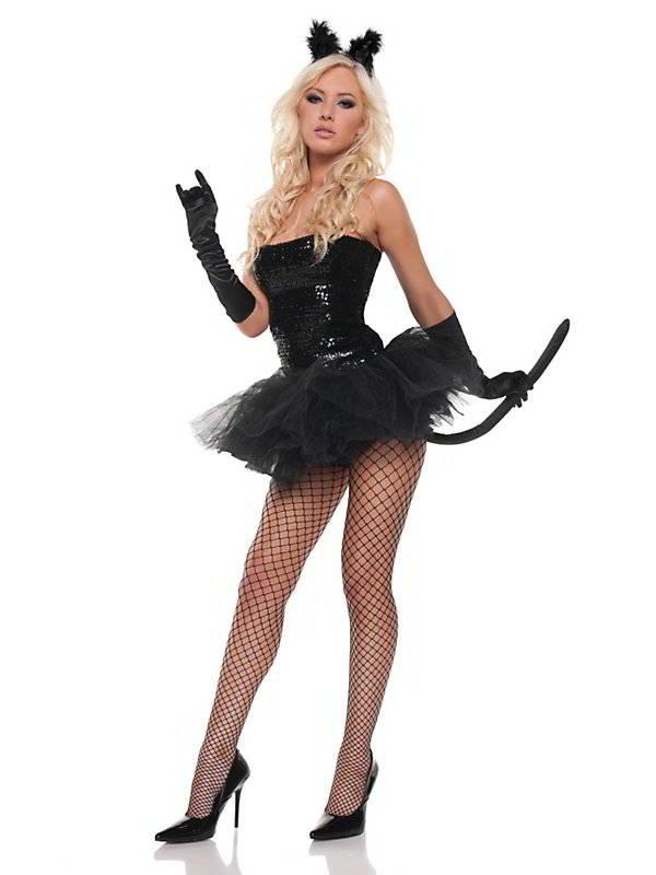 Как одеться на хэллоуин девушке
