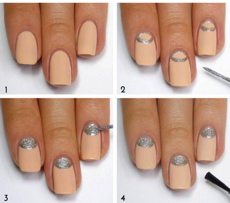 Дизайн ногтей шеллак 2017