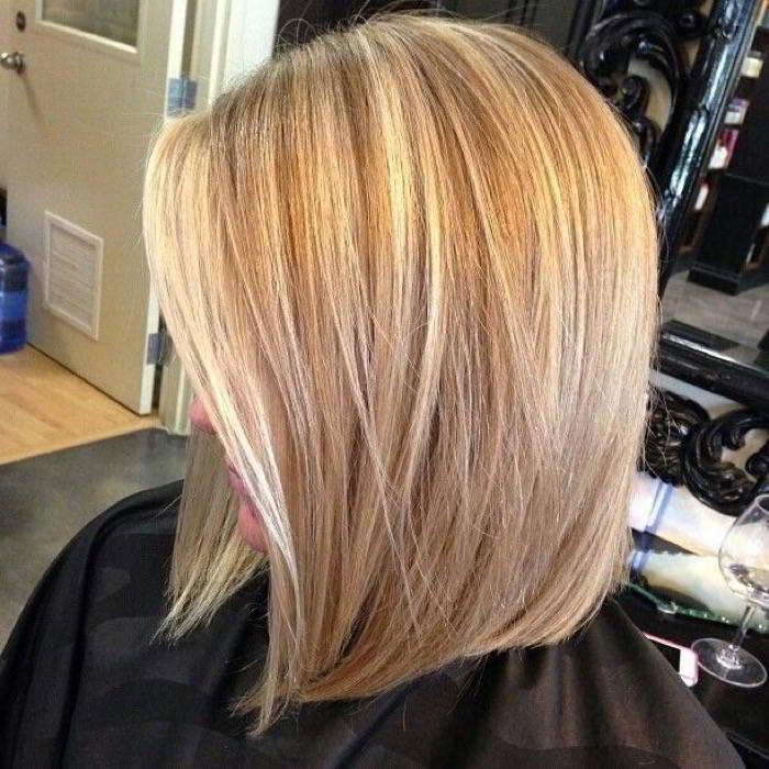 Мелирование на средние волосы 2017
