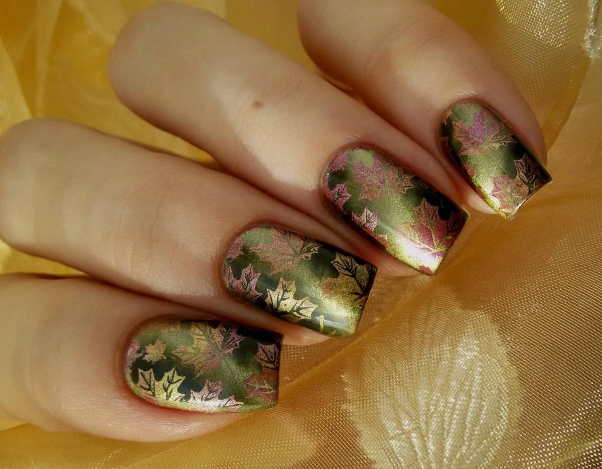 Модный цвет лака для ногтей осень 2016