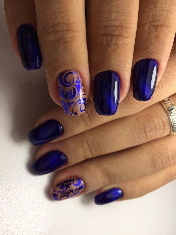 Новогодний маникюр 2017 фото ногти на новый год