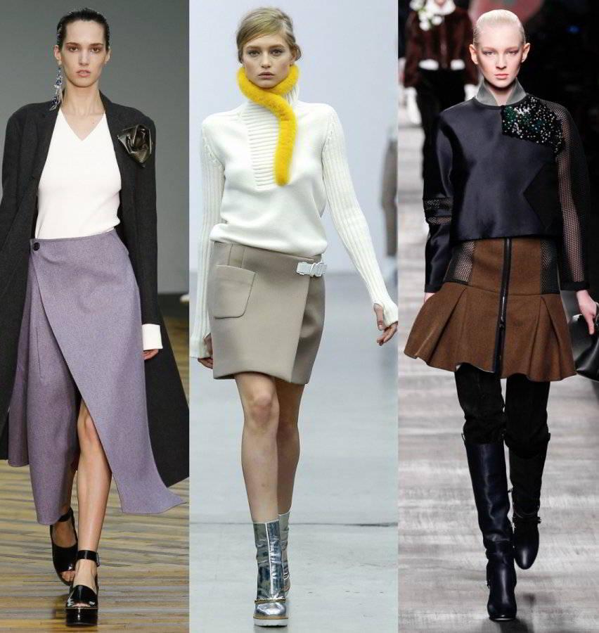Модели ассиметричных юбок