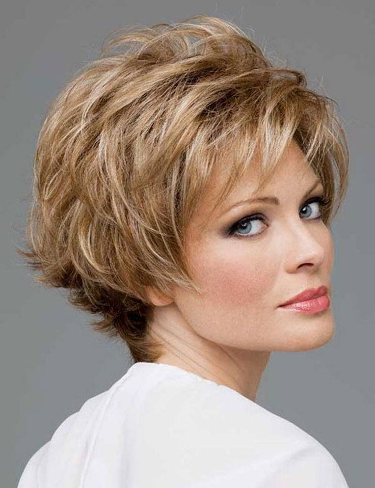 Short haircuts for diamond shaped faces
