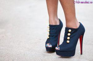 Ботильоны 2017 модные тенденции фото