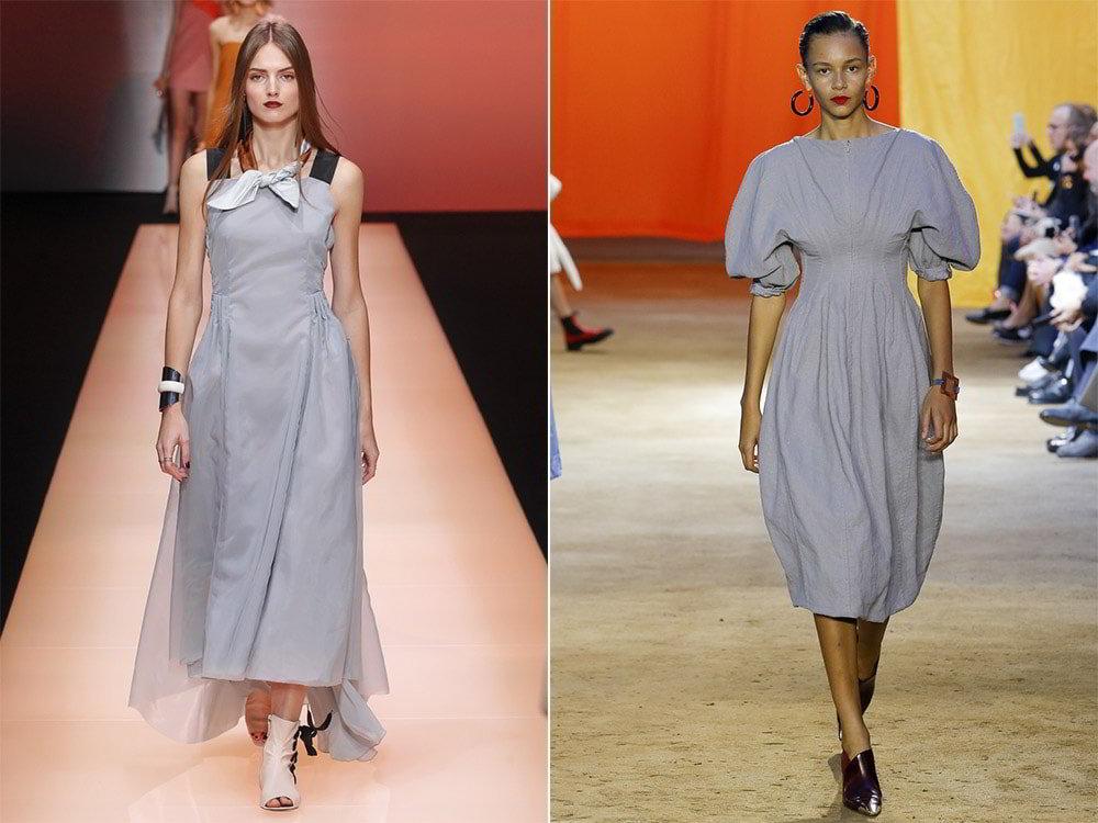 Модные цвета 2017 года в одежде