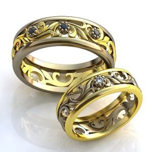 Обручальные кольца 2017