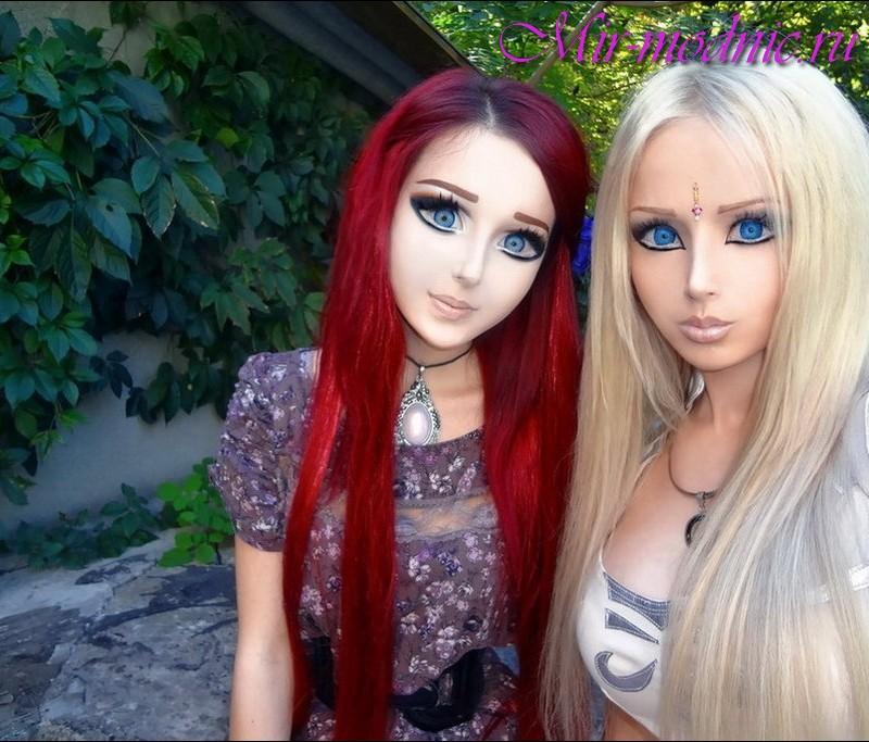 Кукольный макияж фото