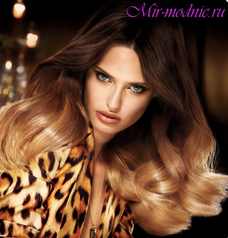 Модная покраска волос 2017