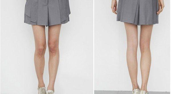 Серая юбка с чем носить фото