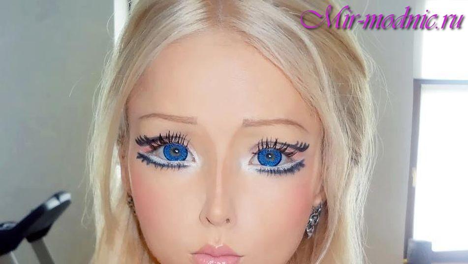Барби макияж глаз фото