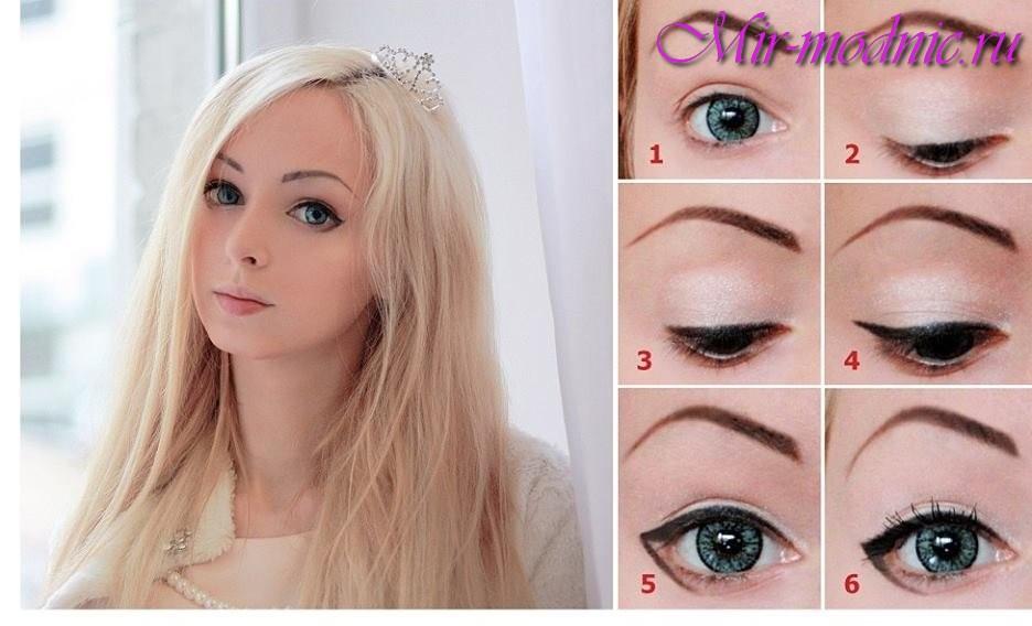 как сделать глаза больше в помощью макияжа