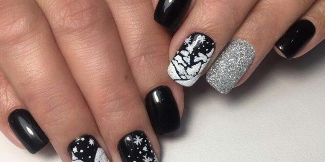 Как накрасить ногти двумя цветами. Как правильно подобрать цвета 56