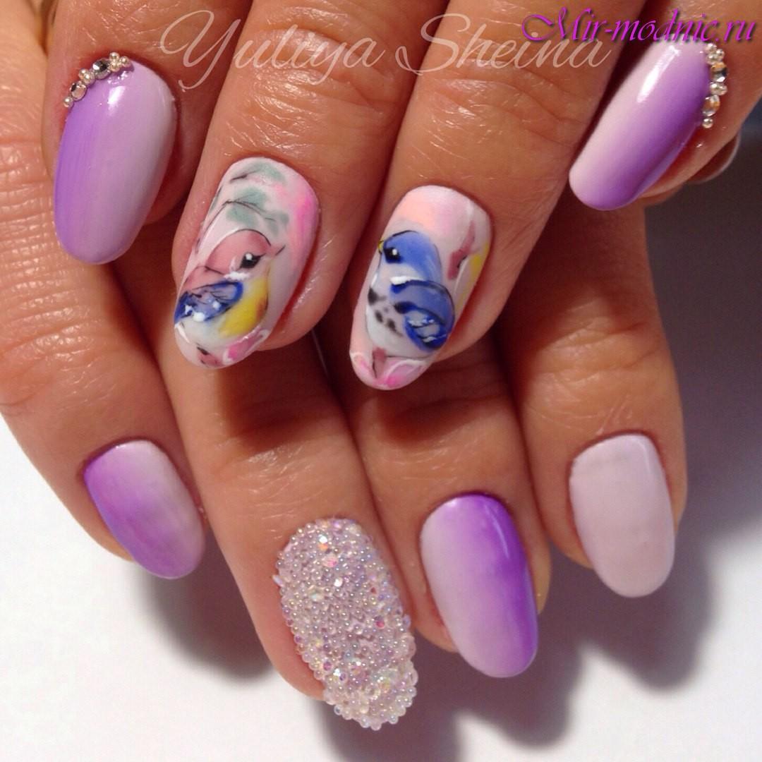 Дизайн ногтей весна лето 2017 новинки