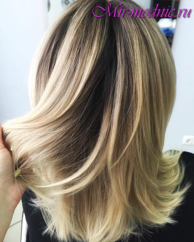 Как сделать колорирование волос в домашних условиях: техники и
